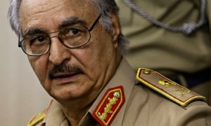 •Renegade General Khalifa Haftar